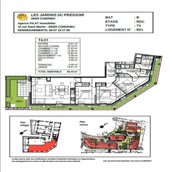 Programme neuf Appartement Condrieu (69420)